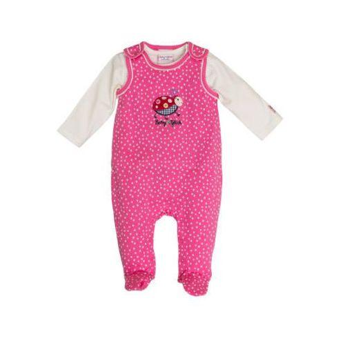 Salt and pepper baby glück girls rampersy biedronka pink (4054432808334)