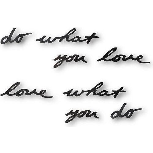 Dekoracja ścienna Mantra Do what you love, 470170-040