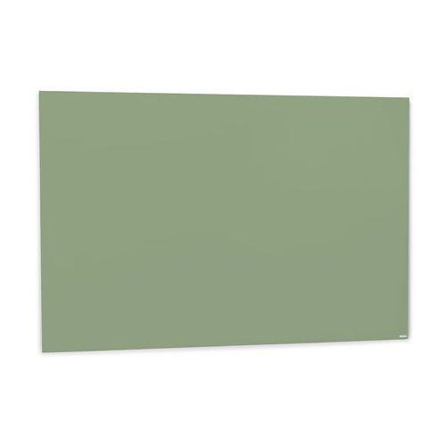 Szklana tablica suchościeralna, 1500x1000 mm, pastelowy zielony