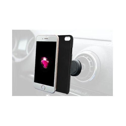 Azuri Etui typu plecki  do apple iphone 7/8 czarny azcovmagiph7-blk + magnetyczny uchwyt samochodowy (5412882697363)