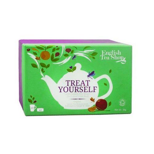 English tea shop Ets treat yourself zestaw z kubkiem