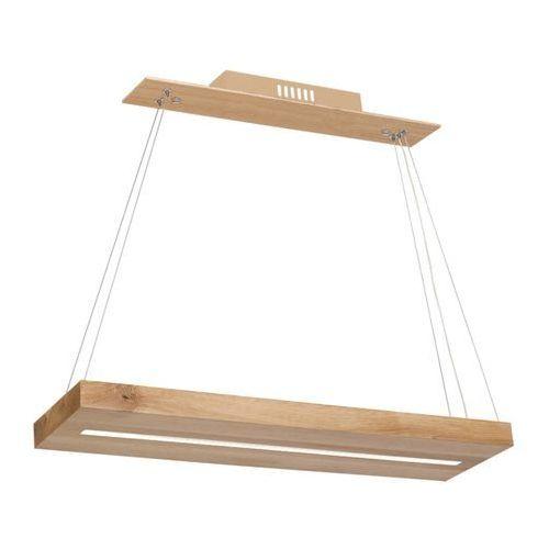 Milagro lampa wisząca LED LOG bezowy 584