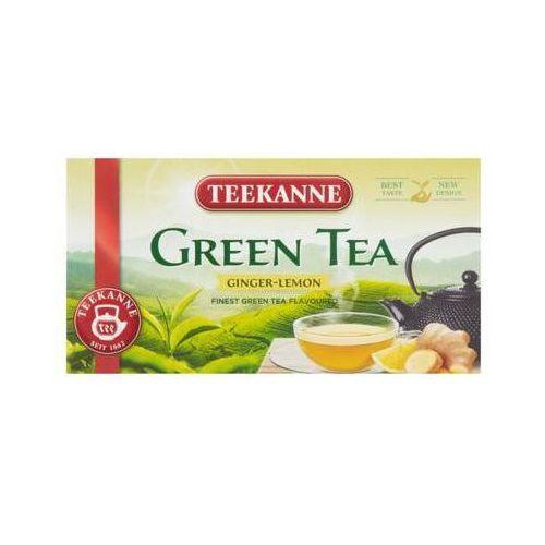 TEEKANNE 20x1,75g Green Tea Ginger lemon Herbata Zielona