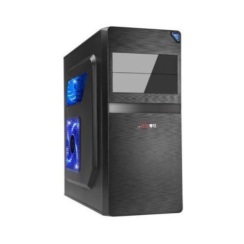 Gembird Obudowa Junona Midi Tow ATX/Micro USB 3.0 Czarna