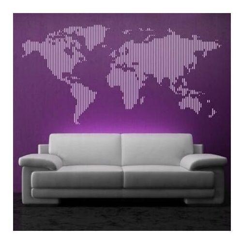 naklejka mapa świata 02