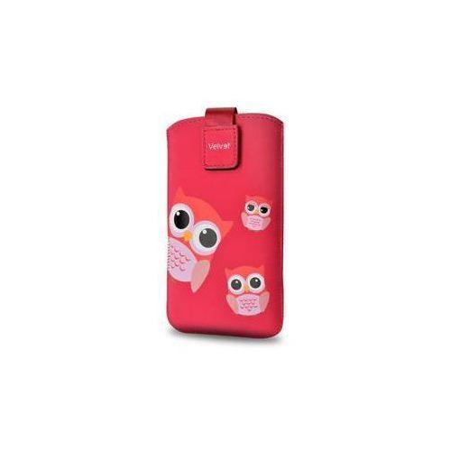 Etui na komórkę FIXED Velvet Owlet, 4XL (RPVEL-054-4XL) Czerwone z kategorii Futerały i pokrowce do telefonów
