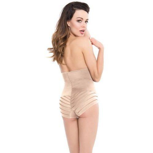 shapewear 141 mesh wysoka talia figi korygujące marki Julimex
