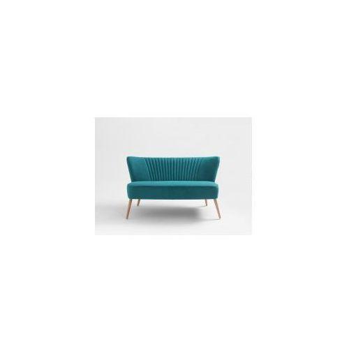 Sofa dwuosobowa Customform Harry- różne kolory tapicerki, kolor różowy