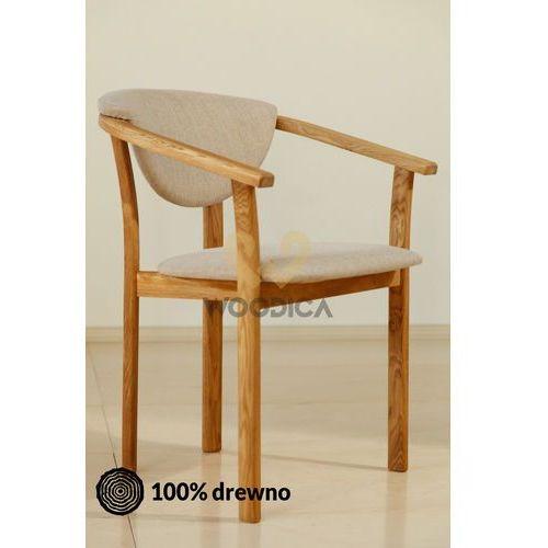 Fotel dębowy m marki Woodica