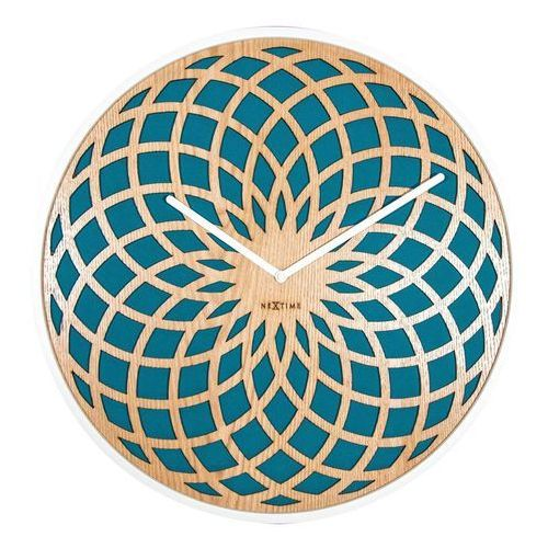 Zegar ścienny Sun Small turkusowy