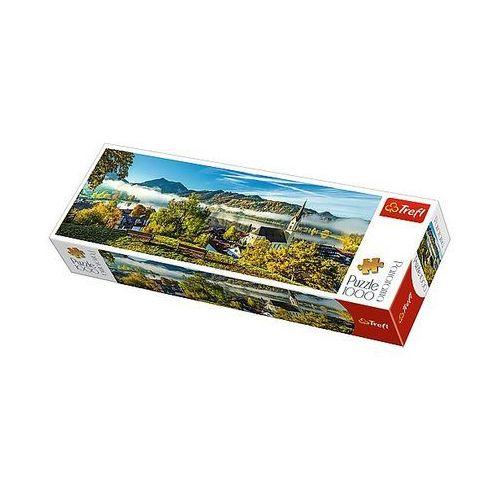 Puzzle 1000 elementów panorama. nad jeziorem schliersee marki Trefl