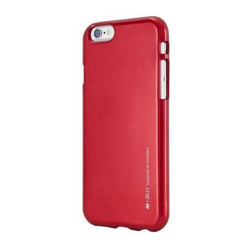 Etui Mercury iJELLY do iPhone 5S/5SE czerwone Odbiór osobisty w ponad 40 miastach lub kurier 24h (8806174364519)