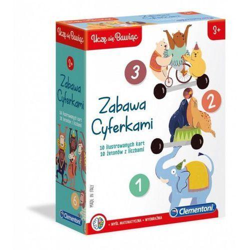 Clementoni Gra zabawa cyferkami (8005125500901)