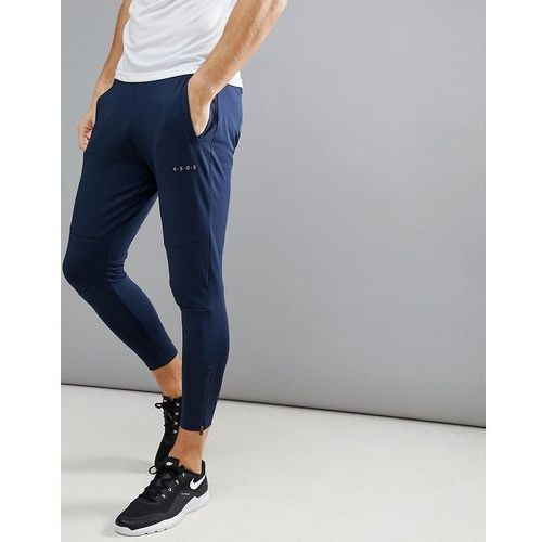 super skinny training joggers with zip cuff - navy, Asos 4505, XXS-XXL