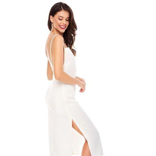 Sugarfree Sukienka varadero w kolorze białym