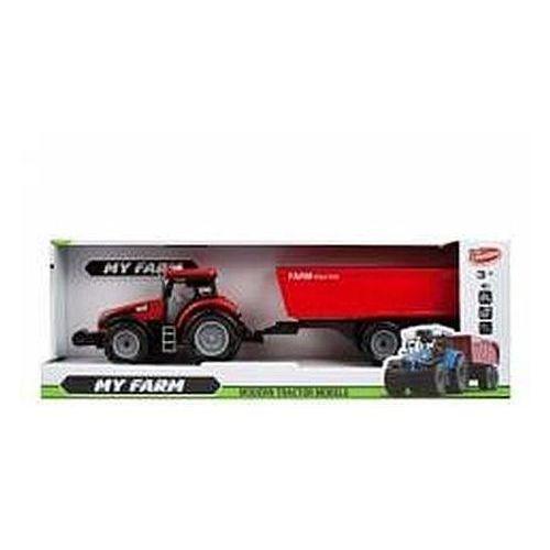 Traktor z akcesoriami 43 cm moje ranczo (5902643699281)