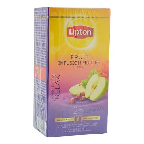 Owocowa herbata Lipton Classic Fruit Infusion 25 kopert