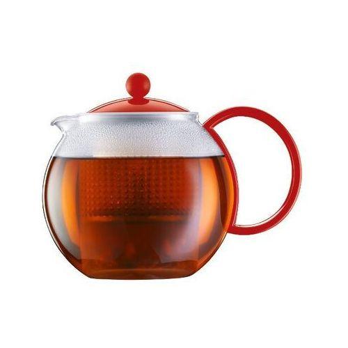 - zaparzacz do herbaty assam, czerwony - 1.00 l marki Bodum