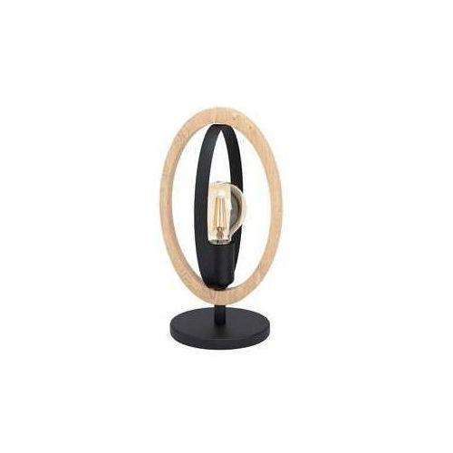 Eglo basildon 43464 lampa stołowa lampka 1x40w e27 czarna (9002759434649)