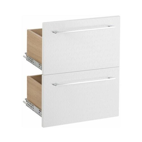 Szuflada do mebli łazienkowych (modułowych) REMIX STRUKTURA 45 X 33 SENSEA (3276006220408)