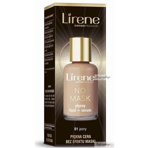 - no mask - płynny fluid + serum z kwasem hialuronowym - 02 naturalny marki Lirene