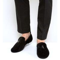 slipper shoes with gunmetal tassel - blue marki Frank wright