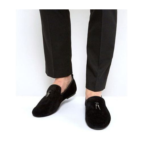 Frank Wright Loafers With Gunmetal Tassel - Blue