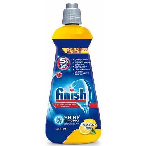Nabłyszczacz FINISH do zmywarek Shine Protect Cytrynowy 400 ml + Zamów z DOSTAWĄ JUTRO!