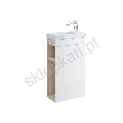 CERSANIT SMART Szafka podumywalkowa 40, front biały S568-022, kolor biały