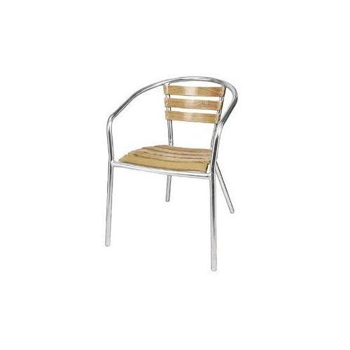 Bolero Krzesło sztaplowane | 555x530x(h)730mm | 4szt.