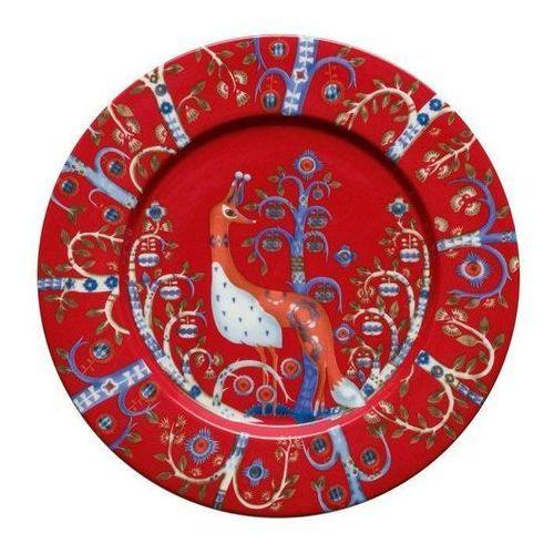 Iittala Talerz płaski 22 cm taika czerwony