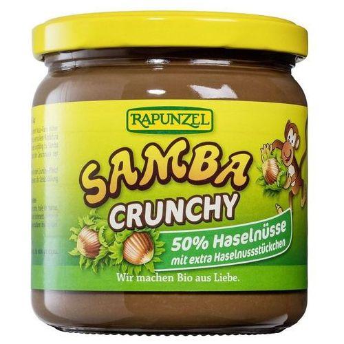 Rapunzel Krem orzechowo-czekoladowy z kawałkami orzechów laskowych samba bio 375 g -