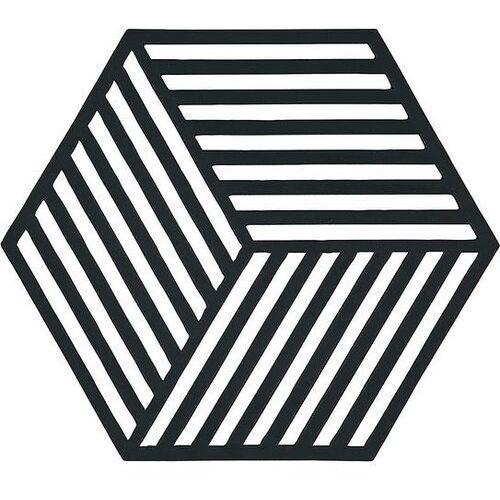 Zone denmark Podstawka pod gorące naczynia hexagon czarna (5708760594238)