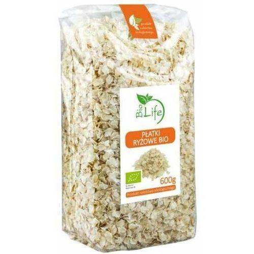 600g płatki ryżowe bio marki Biolife
