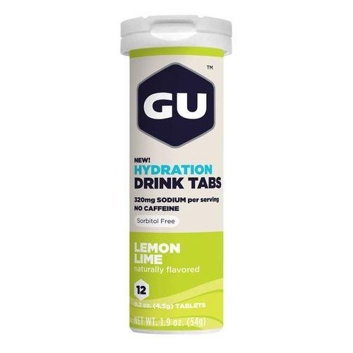Gu energy brew hydration żywność dla sportowców cytryna limonka 12 stück 2018 napoje izotoniczne i inne (0769493501585)