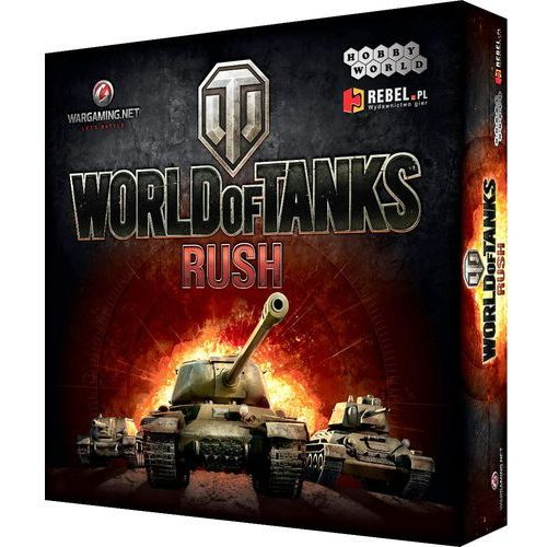 Gra karciana REBEL World of Tanks: Rush (edycja polska)
