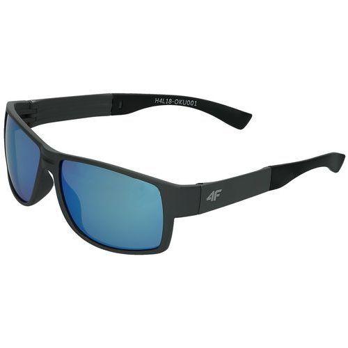 Sportowe okulary przeciwsłoneczne h4l18-oku001 szary marki 4f