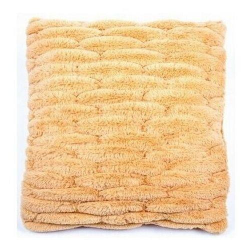 BO-MA Poszewka na poduszkę włochata pikowana pomarańczowy, 45 x 45 cm (8595182116615)