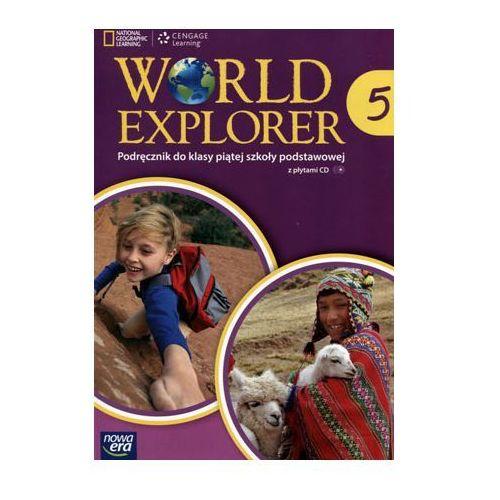 Język angielski World Explorer SP kl. 5 podręcznik / podręcznik dotacyjny, oprawa miękka