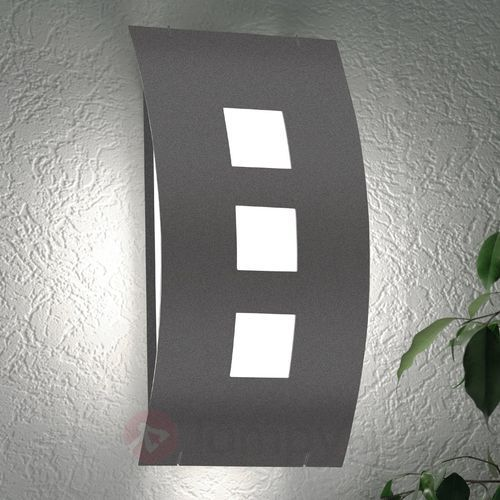 Lampa ścienna zewnętrzna Graal bez czujnika