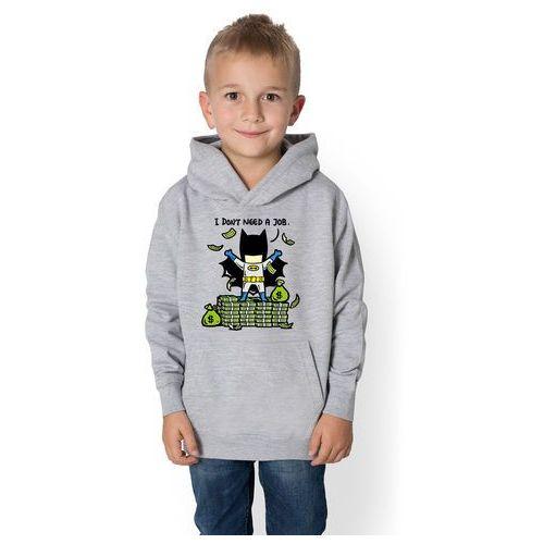 Bluza dziecięca superbohater nie potrzebuje pracy marki Megakoszulki