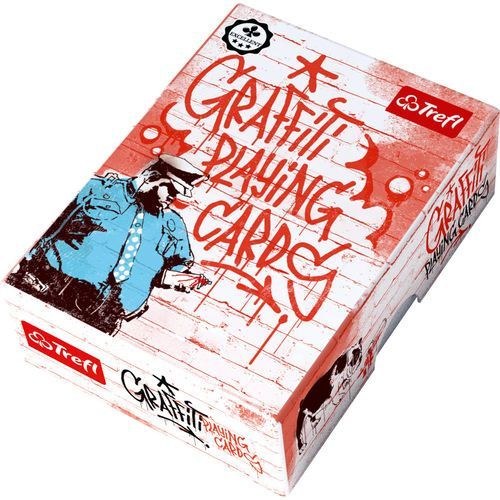 Trefl Karty - graffiti sztuka ulicy