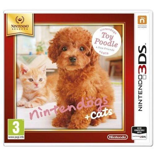 Nintendo Gra  nintendogs + cats toy poodle & new friends select 3ds 2ds