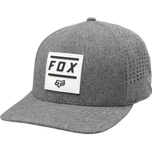 czapka z daszkiem FOX - Listless Flexfit Hat Heather Graphic (185) rozmiar: S/M