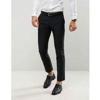 skinny suit trousers in black - black, Farah