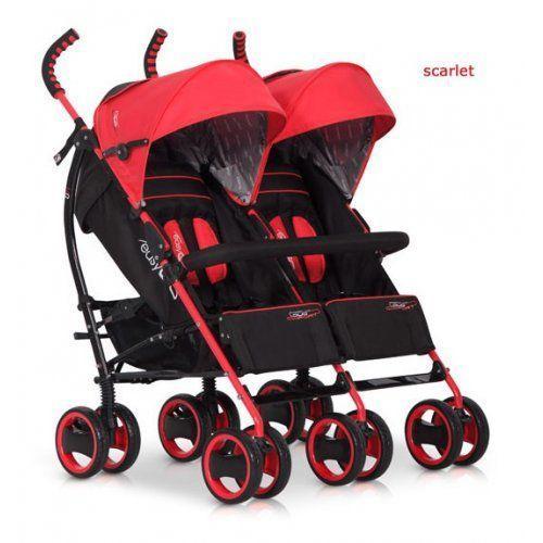 Wózek bliźniaczy duo comfort scarlet marki Easygo