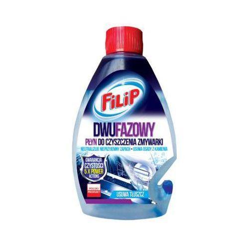 FILIP 250ml Dwufazowy płyn do czyszczenia zmywarek