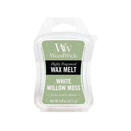 - wosk zapachowy white willow moss 10h marki Woodwick