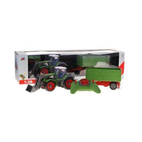 Rui ch. Zestaw farmera: duży zdalnie sterowany traktor z przyczepą (1:28) + pilot radiowy.