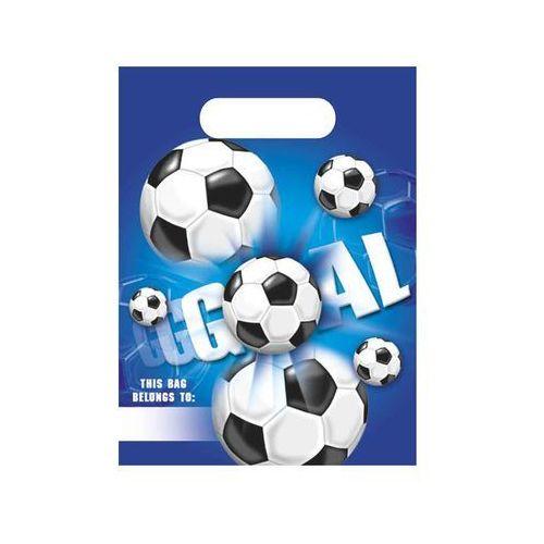Prezentowe torebki urodzinowe football party - 6 szt. marki Procos non-disney